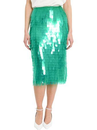 Dries Van Noten High-waist Sequinned Skirt
