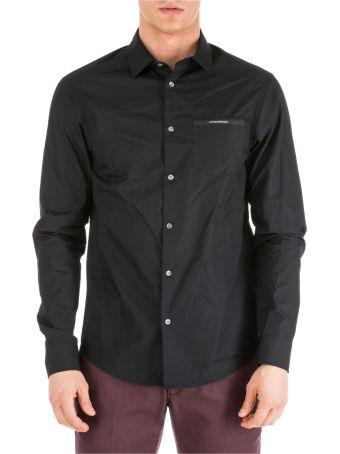 Emporio Armani  Long Sleeve Shirt Dress Shirt Custom Fit