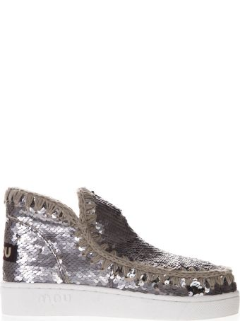 Mou Eskimo Low-cut Sequined Sneakers