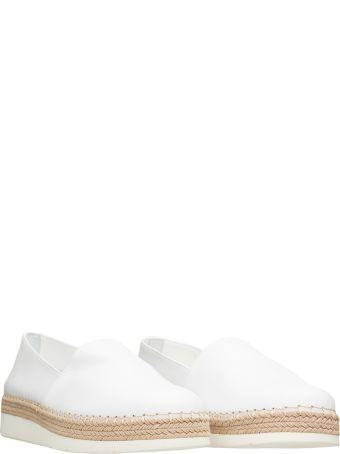 Santoni Santoni White Espadrilles