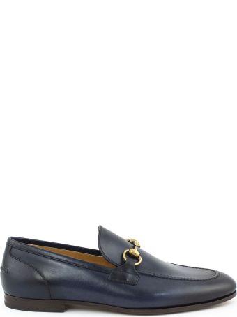 Gucci Gucci Jordaan Blu Loafer