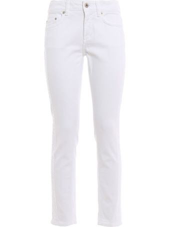 Dondup Embroidered Skinny Jeans