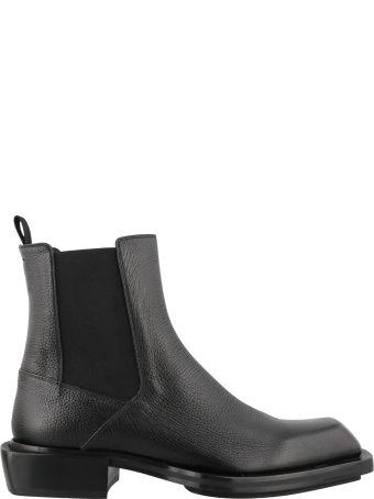 Alexander McQueen Leather Bootie