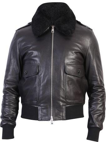 Ami Alexandre Mattiussi Black Zipped Jacket