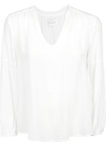 Velvet Long-sleeved Oversized Blouse