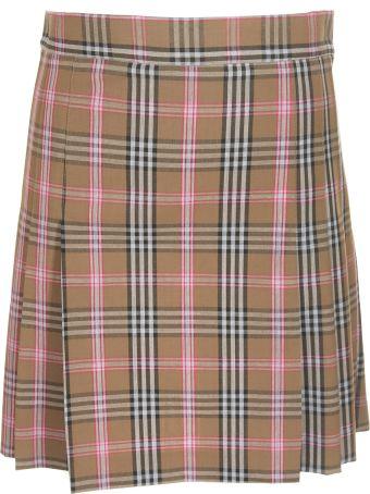 Jucca Checked Mini Skirt