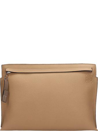Loewe Beige Leather Pochette