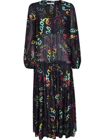 Giada Benincasa Printed Flared Dress