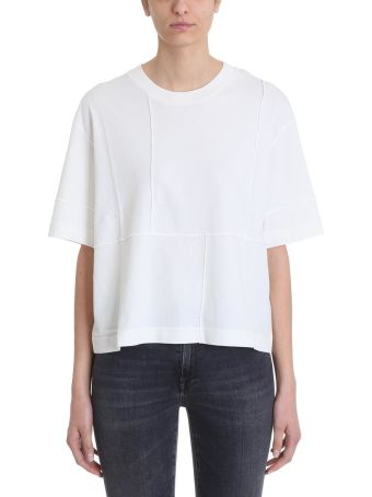Mauro Grifoni White Cotton T-shirt