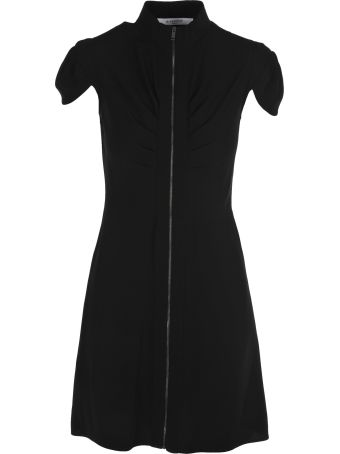 Givenchy Givenchy Front Zipped Mini Dress