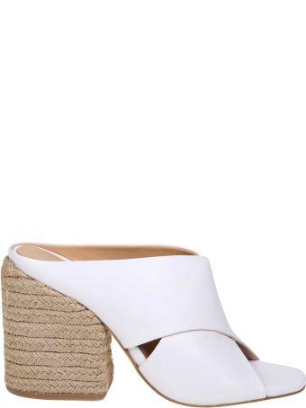 Paloma Barcelò Paloma Barcelo Sandal Venus In White Leather