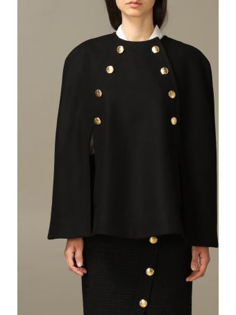 Boutique Moschino Cape Moschino Boutique Cape In Virgin Wool Cloth