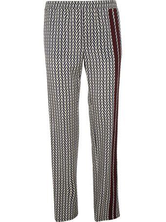 Valentino Chevron Printed Trousers