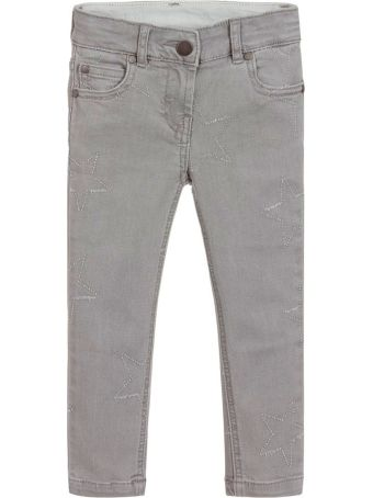 Stella McCartney Kids Gray Girl Jeans