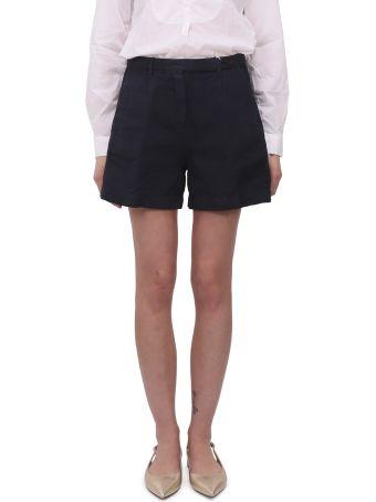 Massimo Alba Blue Sardina Shorts