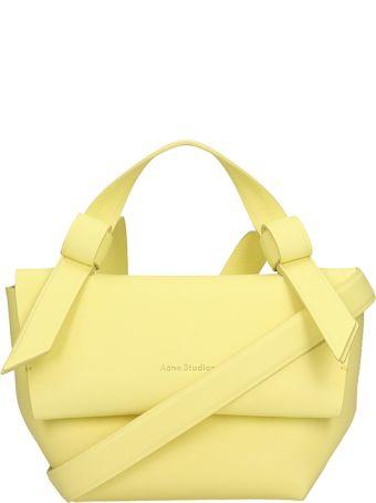 Acne Studios Yellow Leather Musubi Camera Bag