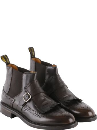 Doucal's Delave' Leather Boots