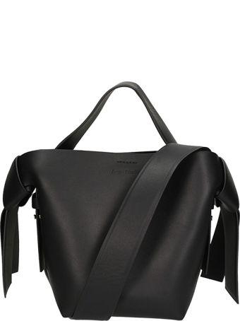 Acne Studios Black Leather Musubi Mini Bag