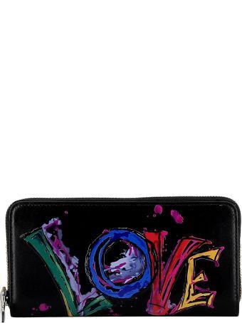 Christian Louboutin Black Leather Wallet