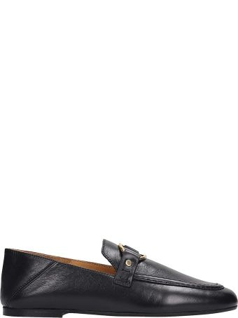 Isabel Marant Ferlyn Loafers In Black Leather