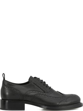 Ann Demeulemeester Leather Lace Up Shoe