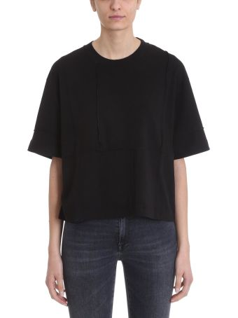 Mauro Grifoni Black Cotton T-shirt