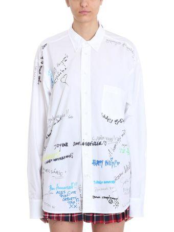 VETEMENTS Scribble 2013 Shirt