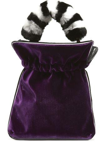 Les Petits Joueurs Fur Bucket Bag