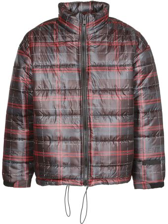 REPRESENT Check Padded Jacket