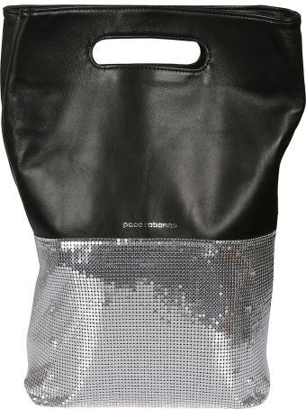 Paco Rabanne Metallic Shopper Bag