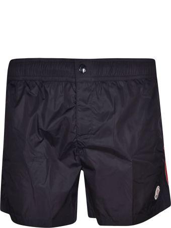 Moncler Side Striped Swim Shorts