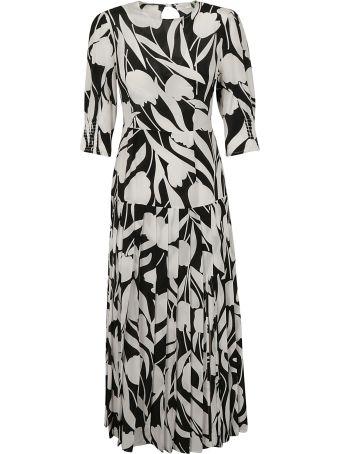 Rixo London Pleated Dress