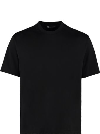 Y-3 Signature Graphic Cotton T-shirt