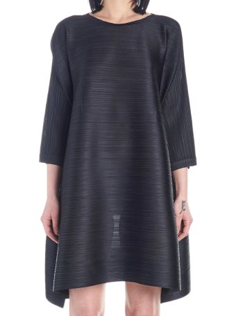 Pleats Please Issey Miyake 'mary Bounce' Dress