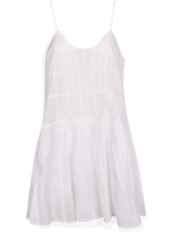 Isabel Marant Embroidered Tiered Dress
