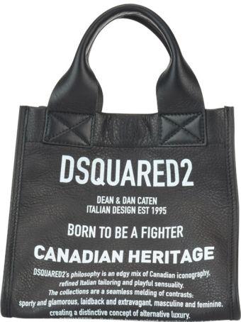 Dsquared2 Small Logo Shopping Bag