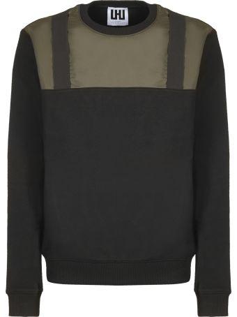 Les Hommes Contrast Panel Sweatshirt