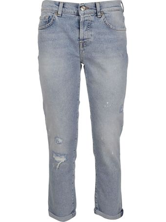 7 For All Mankind Distressed Jeans