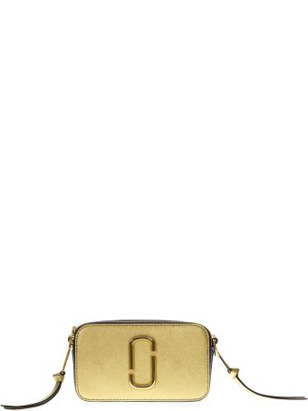Marc Jacobs Snapshot Gold Leather Bag