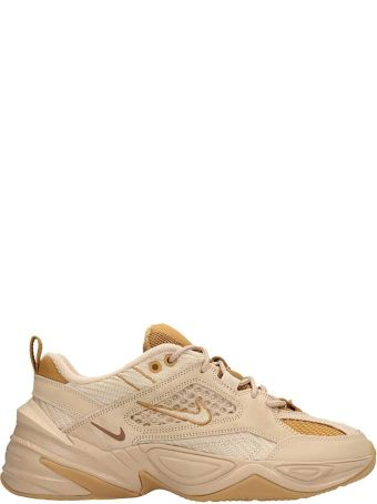 Nike Beige Fabric M2k Tekno Sp Sneakers