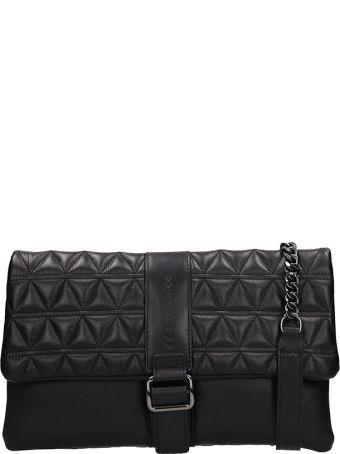 Marc Ellis Black Quilted Leather Bag