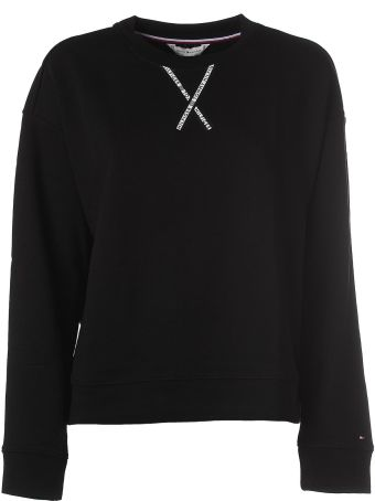 Tommy Hilfiger Black Crew Neck Sweater