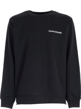 Calvin Klein Jeans Felpa Institutional Back Logo