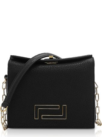 Lancel Pia Mini Chain Shoulder Bag
