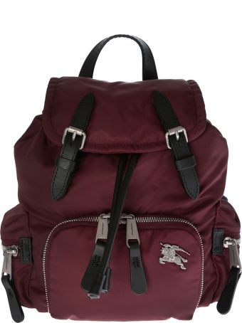 Burberry Front Logo Plaque Small Backpack