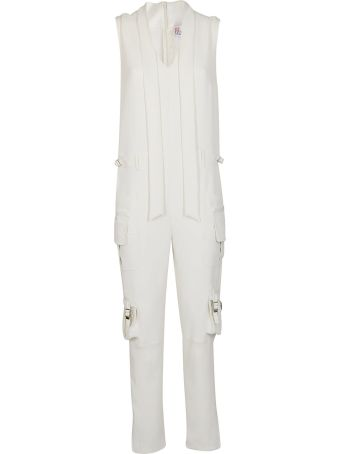 RED Valentino Pussy-bow Cargo Jumpsuit
