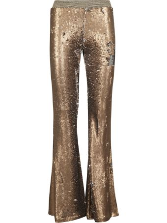 Black Coral Sequined Trousers