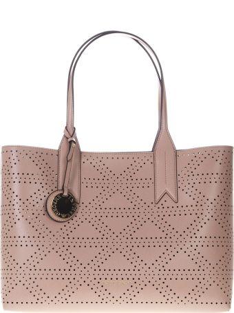 Emporio Armani Frida Powder Pink Faux Leather Bag