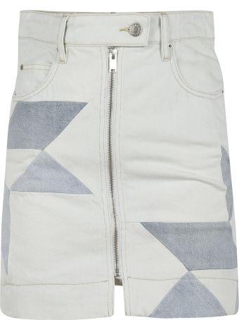 Isabel Marant Patchwork Mini Skirt