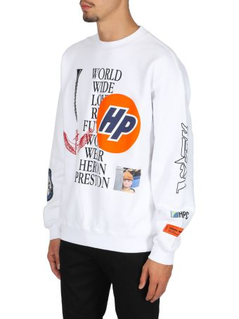 HERON PRESTON Crewneck Os Collage